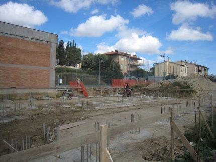 """Cantiere presso l'Itis """"Mattei"""" di Recanati"""