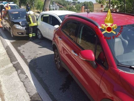 Incidente stradale a Macerata
