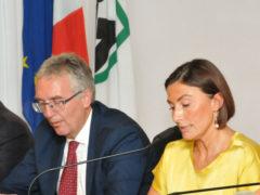 Luca Ceriscioli e Alessia Morani