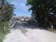 Ponte sul Musone lungo la SP 105