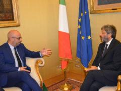 Antonio Mastrovincenzo e Roberto Fico