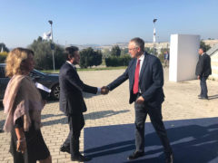 Luca Ceriscioli incontra Giuseppe Conte all'Assemblea Nazionale CNA di Ancona