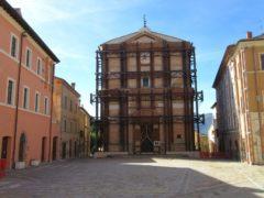 Piazza Umberto I a Camerino
