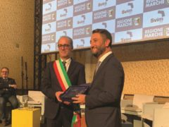 L'assessore Iesari del Comune di Macerata premiato a Roma