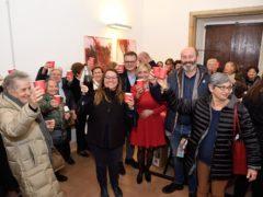 Brindisi per la fine dell'edizione 2019 di Camminando
