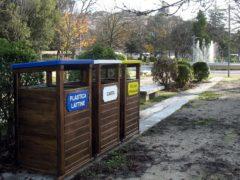 Raccolta differenziata ai Giardini Diaz di Macerata