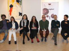 Presentazione a Macerata della mostra di Nino Migliori