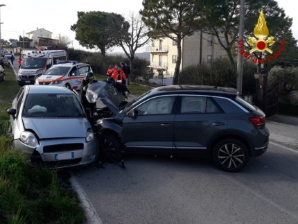 Incidente stradale a Mogliano