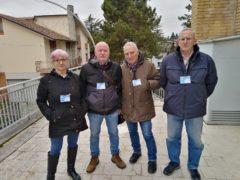 """Aderenti al progetto """"Nonni in servizio"""" a Castelraimondo"""