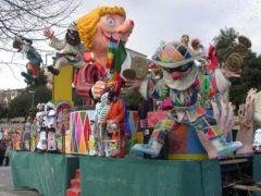 Carro allegorico di Carnevale
