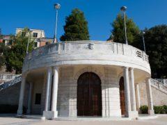 Rotonda dei giardini Diaz a Macerata
