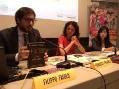 Filippo Fasulo e Francesca Spigarelli