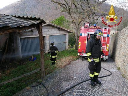 Incendio a Pievebovigliana