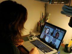 "Videoconferenza a Macerata relativa all'iniziativa ""QUIsSI CRESCE!"""