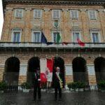 Commemorazione delle vittime del Coronavirus a Macerata
