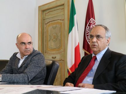 Mauro Giustozzi e Francesco Adornato