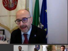Il rettore dell'Università di Camerino, Claudio Pettinari