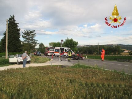 Incidente a Villa Potenza di Macerata