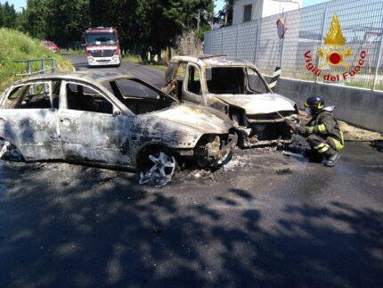 Incidente e successivo incendio a Montelupone