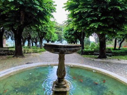 Giardini della Rocca dei Borgia a Camerino