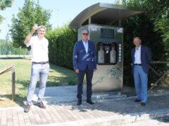 Casa dell'acqua inaugurata a Villa Potenza