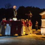 Tradizioni religiose alla Festa della Bura di Tolentino