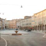 Piazza del Popolo a San Severino Marche