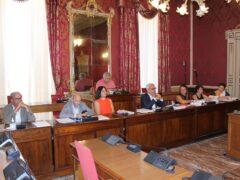 Conferenza stampa presso il Comune di Macerata