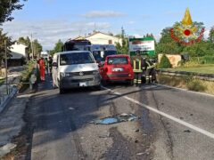 Incidente stradale a Montecassiano