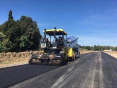 Lavori stradali a Villa Potenza