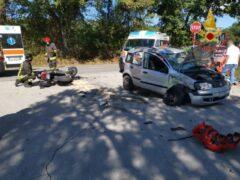 Incidente mortale a Urbisaglia