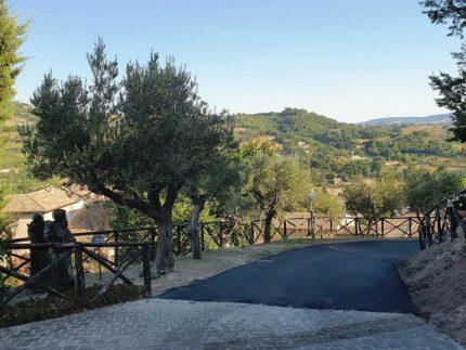 Lavori stradali realizzati a San Severino Marche
