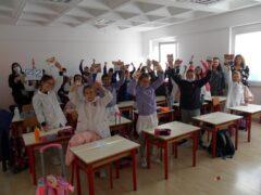 """Classe della scuola primaria """"Lotto"""" di Recanati"""