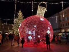 Addobbi natalizi a San Severino