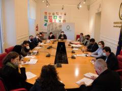 Incontro del presidente Latini e i capogruppo