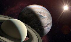 Congiunzione tra Giove e Saturno