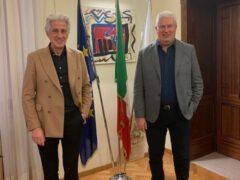 Sandro Parcaroli e Giordano Riva