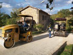 Lavori stradali a Camerino
