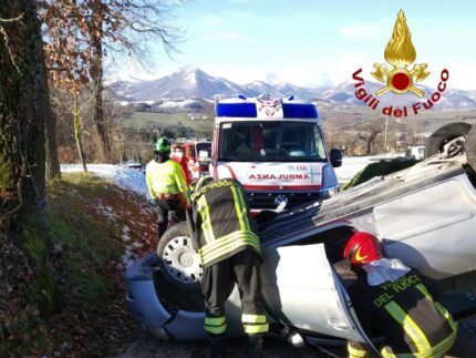 Incidente stradale a Matelica