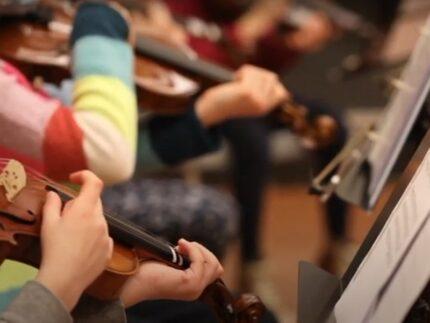 Progetto di orchestre per bambini a Macerata