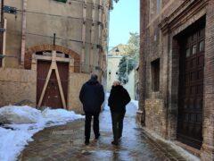 Corso Vittorio Emanuele a Camerino