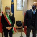 Rosa Piermattei e Vincenzo Trombadore