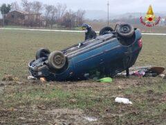 Incidente stradale ad Appignano