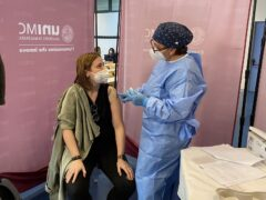 Vaccinazioni al personale dell'Università di Macerata