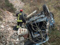 Incidente stradale a Fiastra