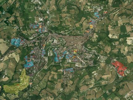 Planimetria di Macerata