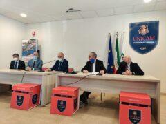 Conferenza stampa sulla ricostruzione dell'Università di Camerino