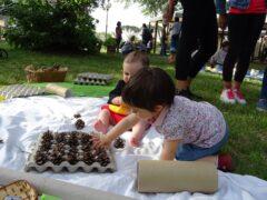 Attività all'aperto negli asili nido