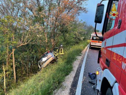Incidente stradale a Pollenza