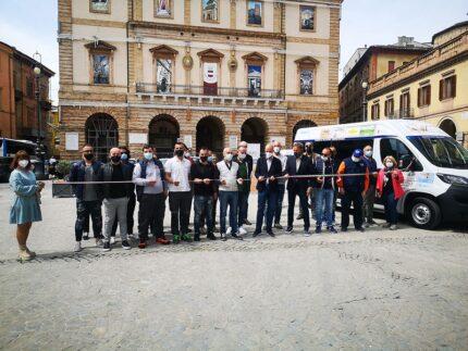 Mezzo concesso a Tolentino da PMG Italia